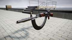 Автомат АК-47 Colimador. Hocico y HICAP targe