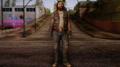Francis from Left 4 Dead Beta para GTA San Andreas