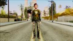 Ellie from The Last Of Us v2 para GTA San Andreas