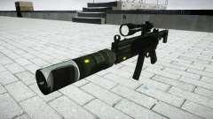 Táctica subametralladora MP5 destino