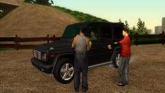 Carretera de garaje de Sigea para GTA San Andreas