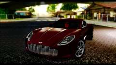 Aston Martin One-77 Black and Red para GTA San Andreas