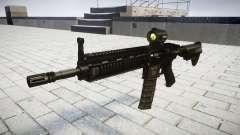 Máquina HK416 AR destino para GTA 4