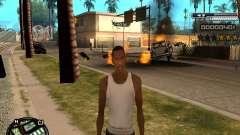 CLEO HUD Spiceman para GTA San Andreas