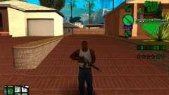 C-HUD Grove Street TAWER para GTA San Andreas