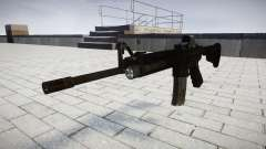 Tácticas de asalto M4 rifle Black Edition de destino para GTA 4