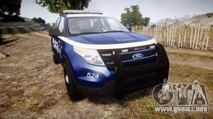 Ford Explorer 2013 LCPD [ELS] v1.0L para GTA 4