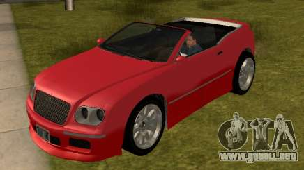 Cognoscenti Cabrio para GTA San Andreas