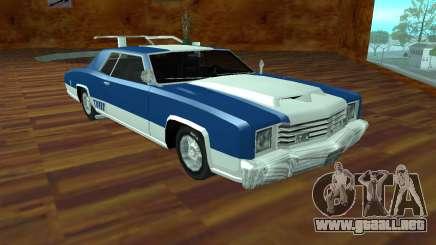 Buccaneer Turbo para GTA San Andreas