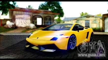 Lamborghini Gallardo LP 570-4 para GTA San Andreas