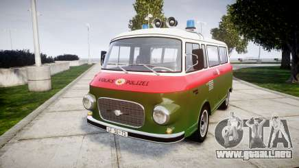 Barkas B1000 1961 Police para GTA 4
