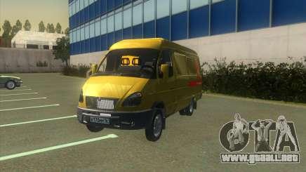 Gacela 2705 Colección De Alfa Bank para GTA San Andreas
