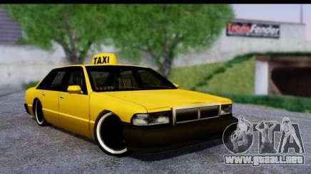 Slammed Taxi para GTA San Andreas