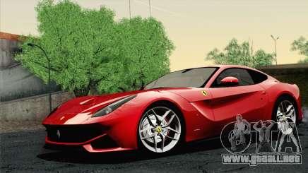 Ferrari F12 Berlinetta 2013 para GTA San Andreas