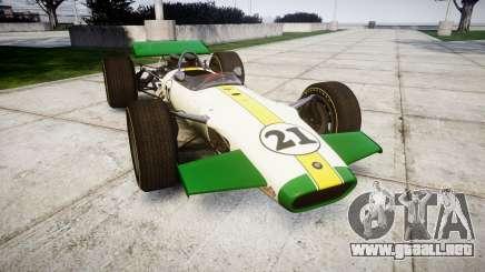 Lotus Type 49 1967 [RIV] PJ21-22 para GTA 4