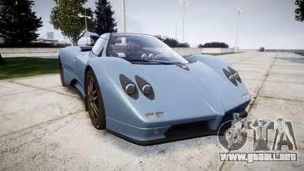 Pagani Zonda C12 S 7.3 2002 PJ1 para GTA 4