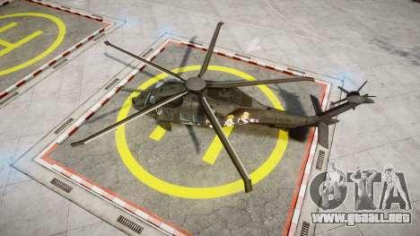 Sikorsky MH-X Silent Hawk [EPM] Printemps para GTA 4 visión correcta