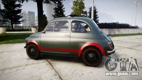 Fiat 695 Abarth SS Assetto Corse 1970 para GTA 4 left
