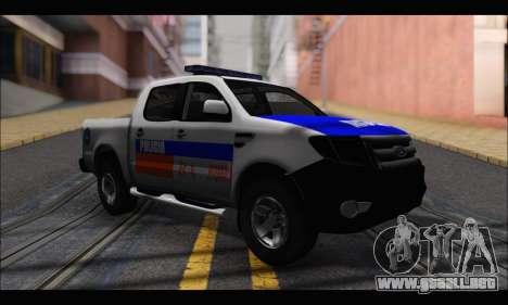 Ford Ranger P.B.A 2015 para GTA San Andreas