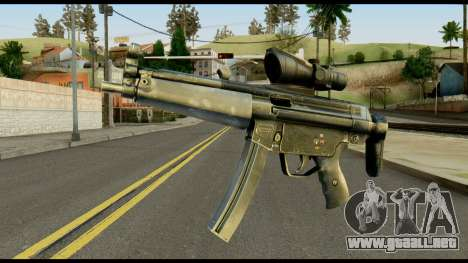 MP5 from Max Payne para GTA San Andreas