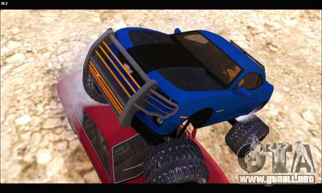 Chevrolet Camaro SUV Concept para la vista superior GTA San Andreas