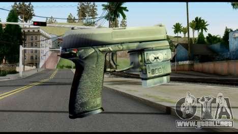 Socom from Metal Gear Solid para GTA San Andreas segunda pantalla