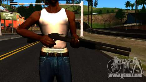 Negro MP-133 con Glitter para GTA San Andreas tercera pantalla