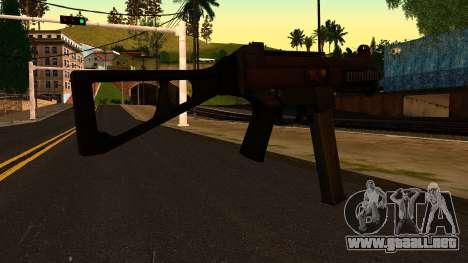 UMP45 from Battlefield 4 v1 para GTA San Andreas segunda pantalla