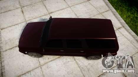 Albany Cavalcade EXT para GTA 4 visión correcta