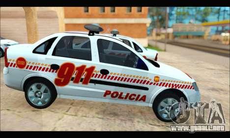 Chevrolet Corsa Premium Policia de Salta para la visión correcta GTA San Andreas