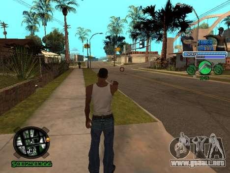С-Hud Tawer-Gueto v1.6 el Clásico para GTA San Andreas