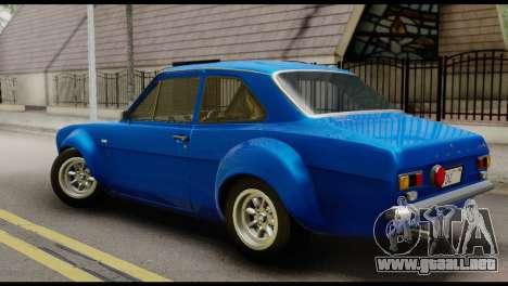 Ford Escort Mark 1 1970 para GTA San Andreas left