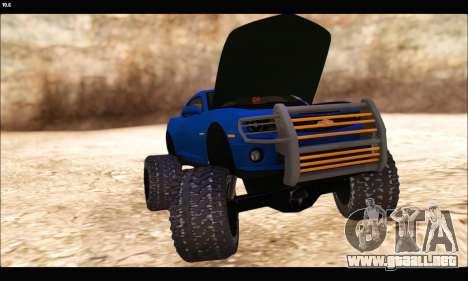 Chevrolet Camaro SUV Concept para visión interna GTA San Andreas