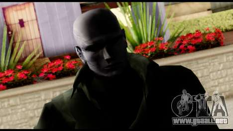 Resident Evil Skin 12 para GTA San Andreas tercera pantalla