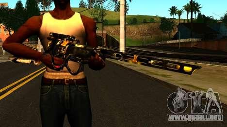 Laser Rifle Wattz 2000 para GTA San Andreas tercera pantalla