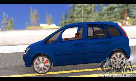 Chevrolet Meriva para GTA San Andreas left
