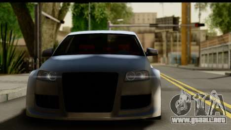 Audi A3 Tuning para GTA San Andreas vista posterior izquierda