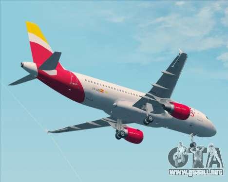 Airbus A320-200 Iberia Express para la vista superior GTA San Andreas