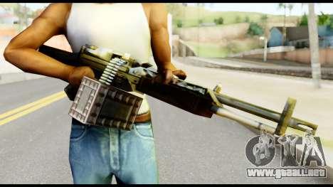 M63 from Metal Gear Solid para GTA San Andreas tercera pantalla