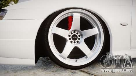 Nissan Silvia S14 Kouki Hellaflush para GTA 4 vista hacia atrás