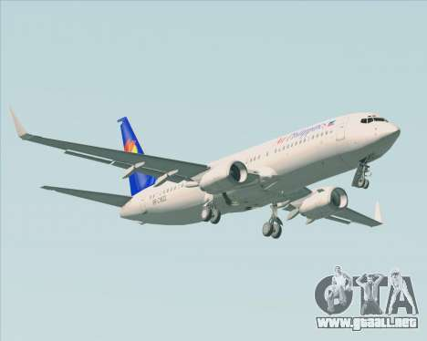 Boeing 737-800 Air Philippines para el motor de GTA San Andreas