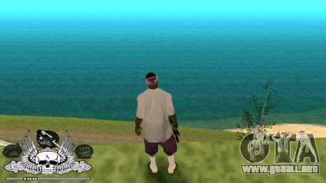 C-HUD Gueto de Habitación para GTA San Andreas tercera pantalla
