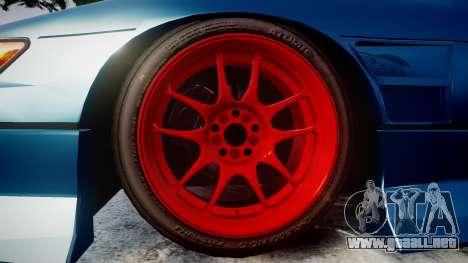 Nissan Silvia S13 1JZ para GTA 4 vista hacia atrás
