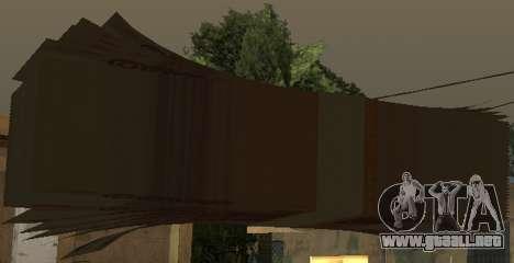 5000 rublos para GTA San Andreas quinta pantalla