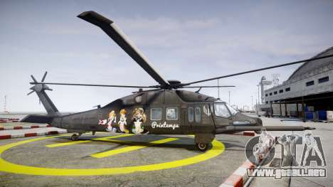 Sikorsky MH-X Silent Hawk [EPM] Printemps para GTA 4 left