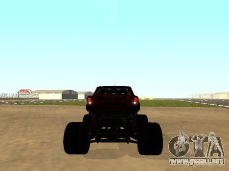 SuperMotoXL Zen MaXXimus CD 17.1 XL-HT para la visión correcta GTA San Andreas