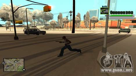 C-HUD v5.0 para GTA San Andreas sexta pantalla