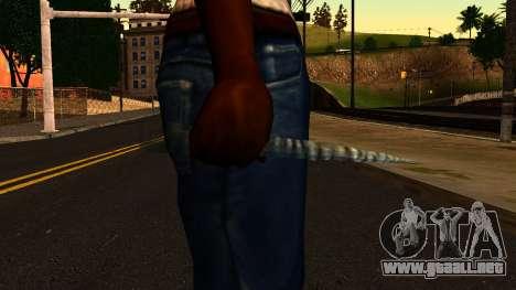 Navidad Cuchillo para GTA San Andreas tercera pantalla