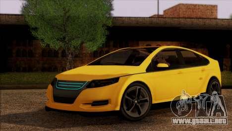 Cheval Surge 1.1 (IVF) para GTA San Andreas