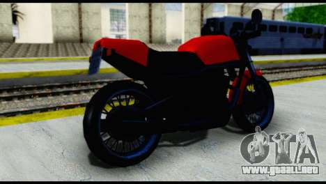 Streetfighter from Vice City Stories para GTA San Andreas left